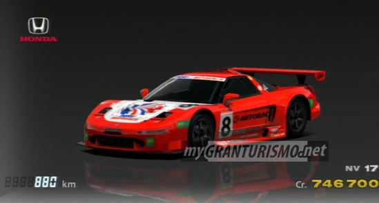 Honda Nsx Car >> Honda ARTA NSX '00   Gran Turismo 5   mygranturismo.net