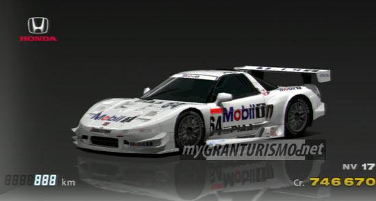 Honda Mobil 1 NSX '01 | Gran Turismo 5 | mygranturismo.net