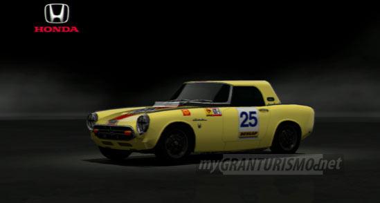 Honda S800 Rsc Race Car 68 Gran Turismo 5