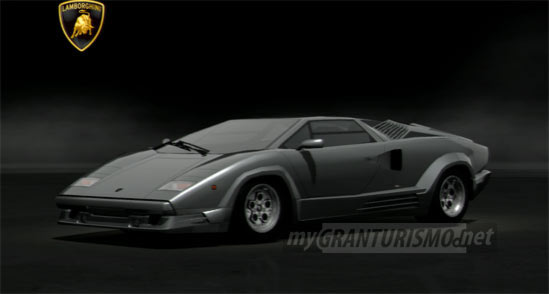 lamborghini countach 25th anniversary 39 88 gran turismo 5. Black Bedroom Furniture Sets. Home Design Ideas