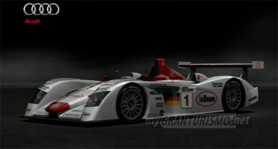 Audi R Race Car Gran Turismo Mygranturismonet - Audi r8 race car 01 gt6