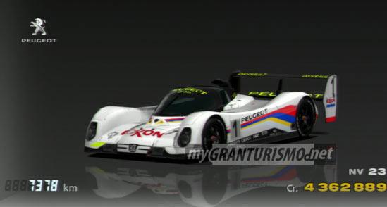 Peugeot 905 Race Car 92 Gran Turismo 5 Mygranturismo Net