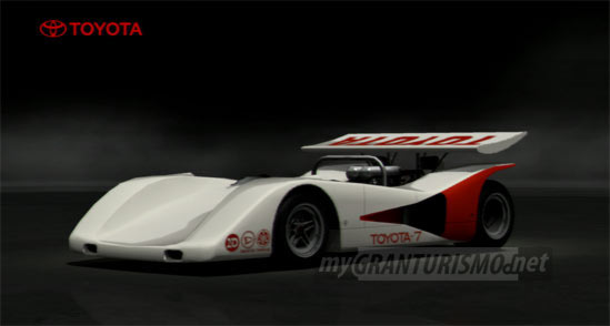 toyota toyota 7 race car 39 70 gran turismo 5. Black Bedroom Furniture Sets. Home Design Ideas